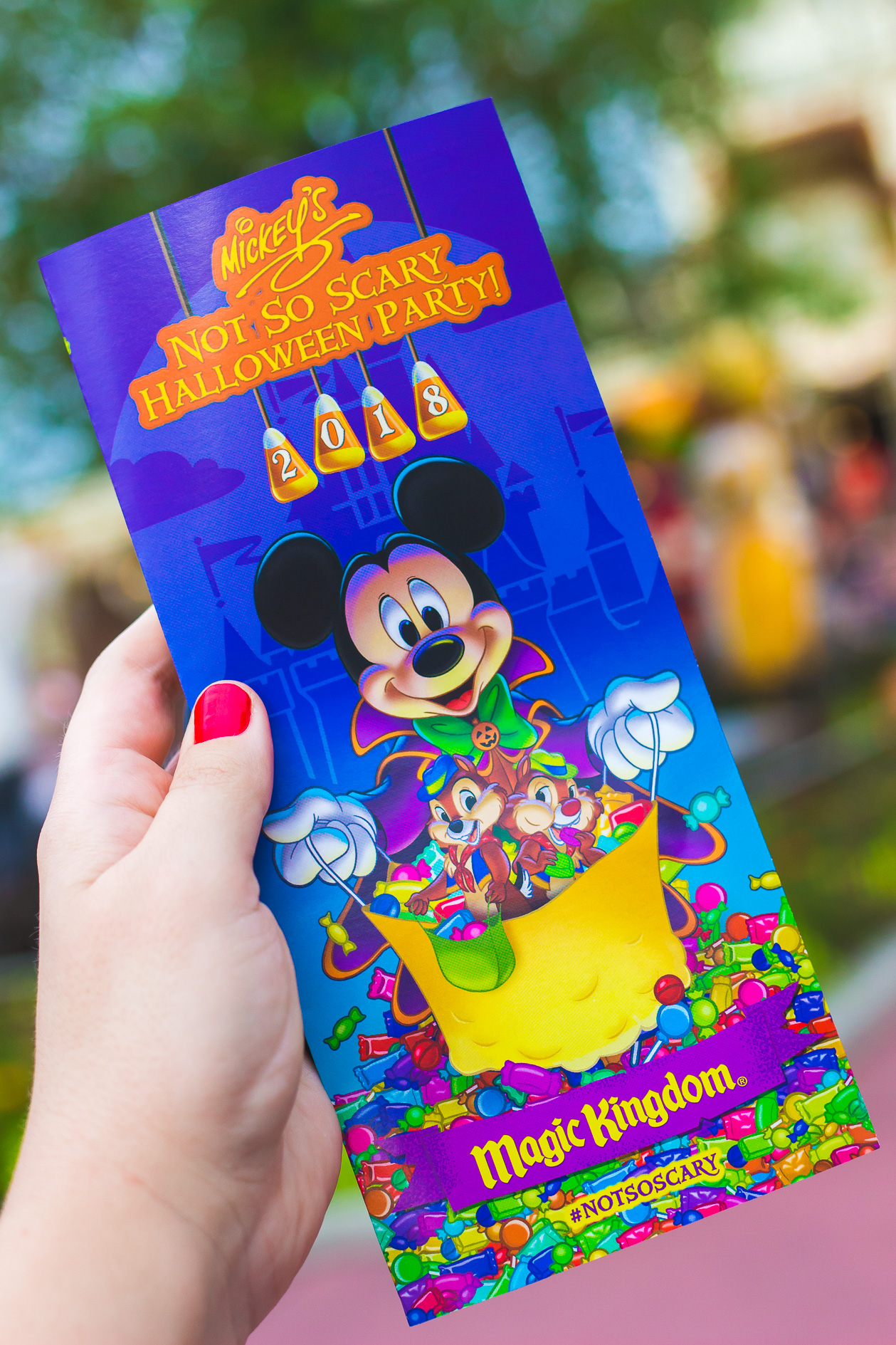 why mickey's not so scary halloween party is my favorite event of